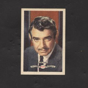 Vintage 1958 Atlantic Picture Pagent Clark Gable